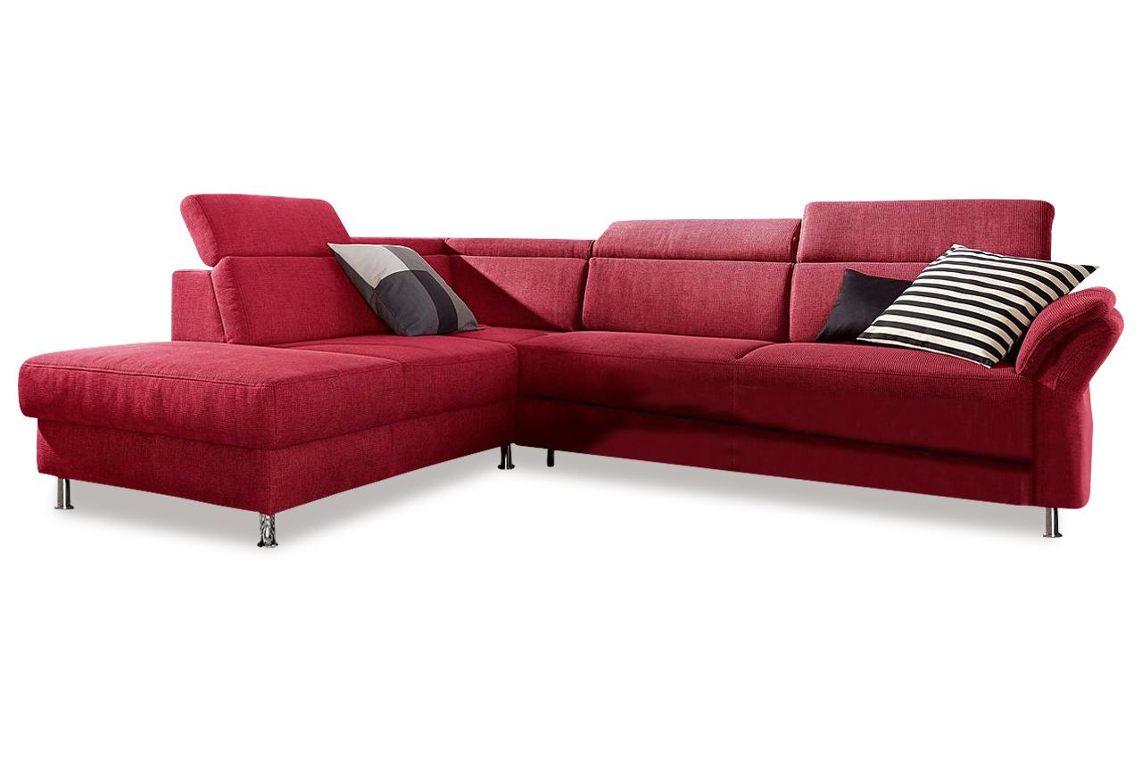 ecksofa xl rot sofas zum halben preis. Black Bedroom Furniture Sets. Home Design Ideas