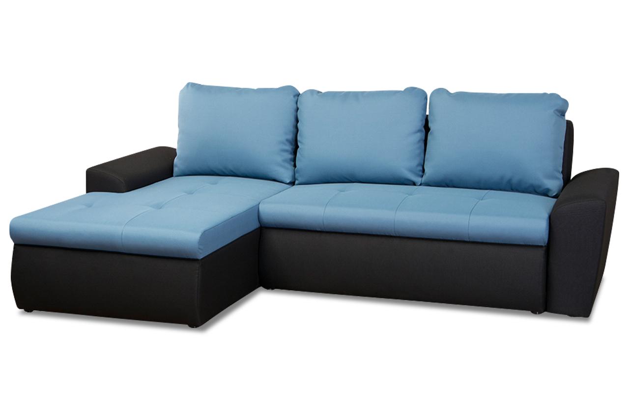 ecksofa blau sofas zum halben preis. Black Bedroom Furniture Sets. Home Design Ideas
