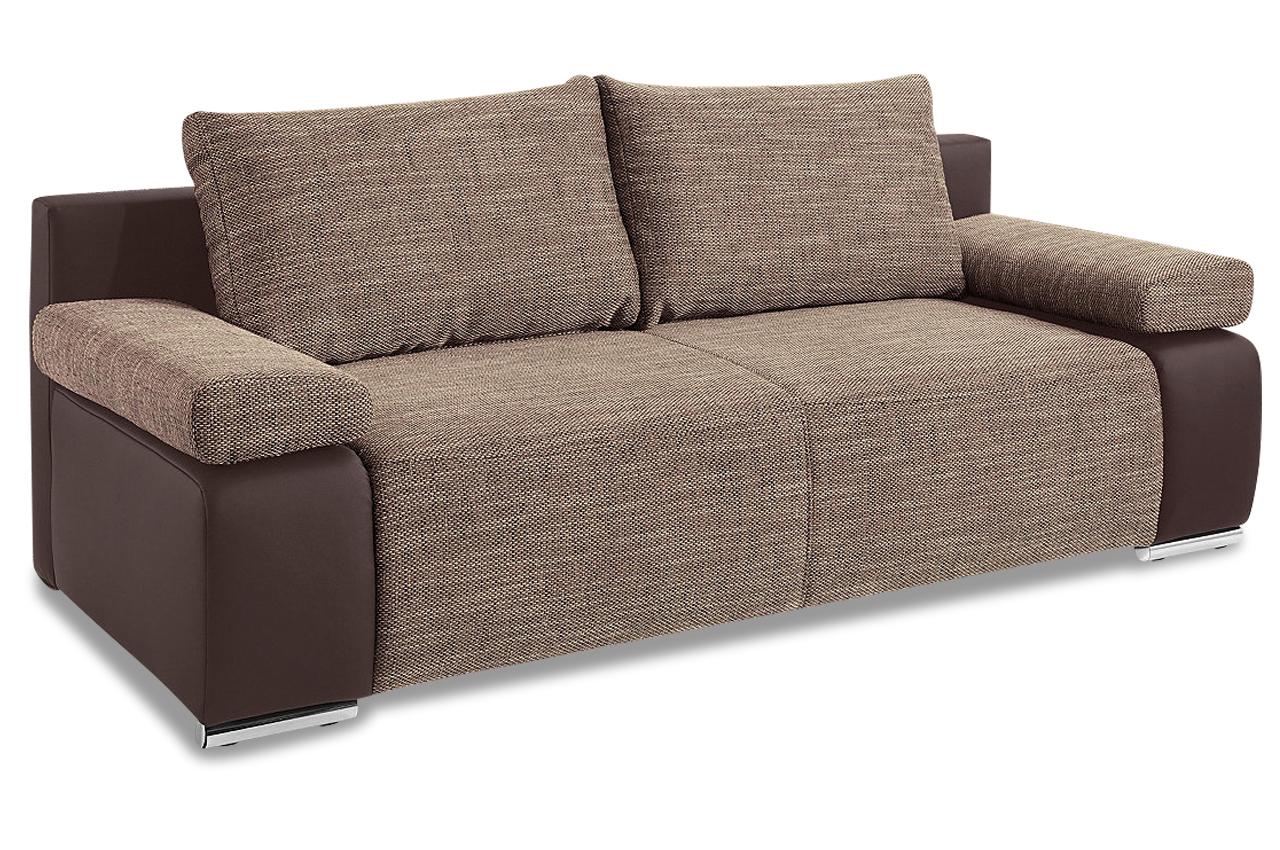 Einzelsofa sevilla mit bett sofa couch ecksofa ebay for Bett mit couch