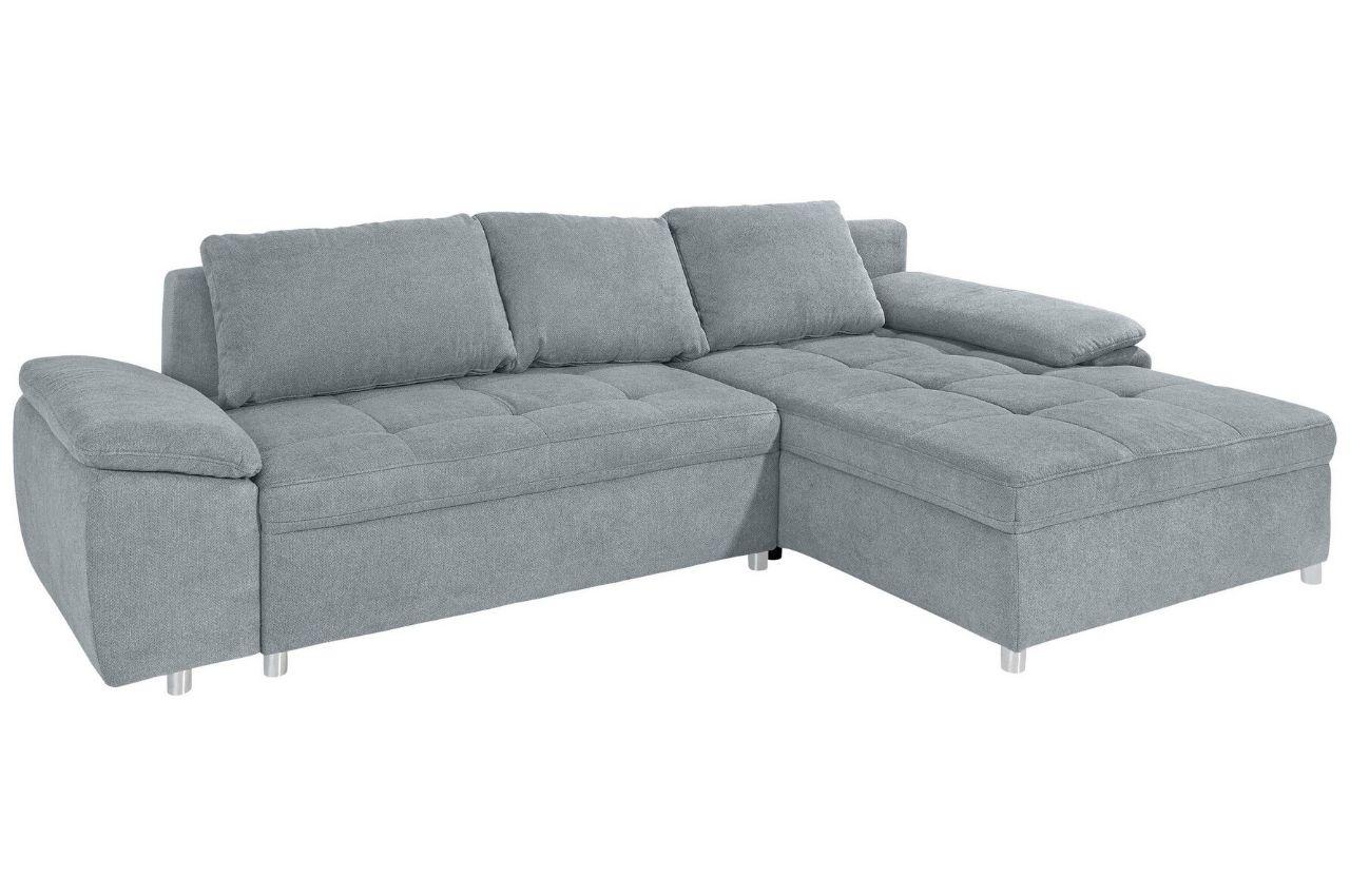 Sofa L-Form rechts - mit Schlaffunktion - Grau   Sofas zum ...