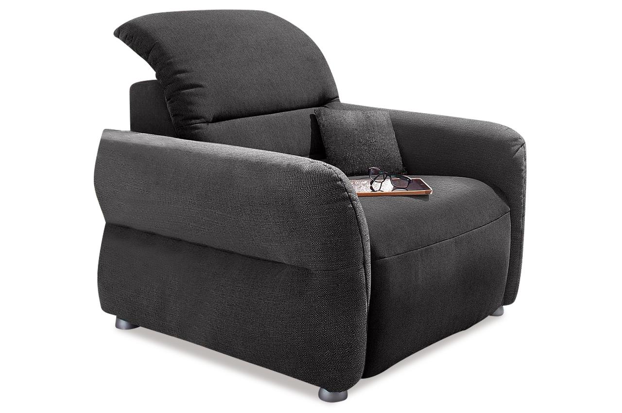 sessel mit relax grau sofas zum halben preis. Black Bedroom Furniture Sets. Home Design Ideas