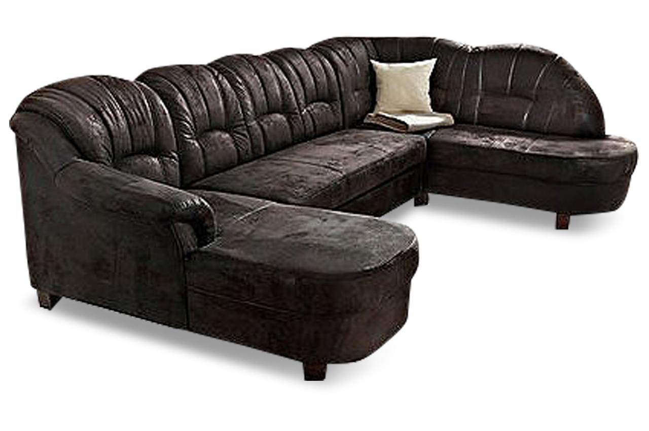 wohnlandschaft budapest mit schlaffunktion schwarz sofas zum halben preis. Black Bedroom Furniture Sets. Home Design Ideas