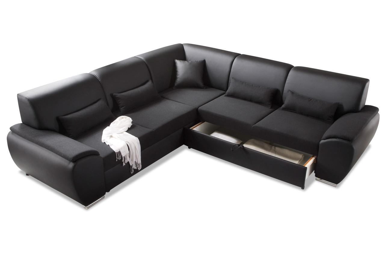 blackredwhite rundecke antara mit schlaffunktion schwarz sofas zum halben preis. Black Bedroom Furniture Sets. Home Design Ideas