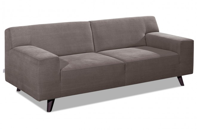 Tom Tailor 2er-Sofa Nordic Pure - Braun