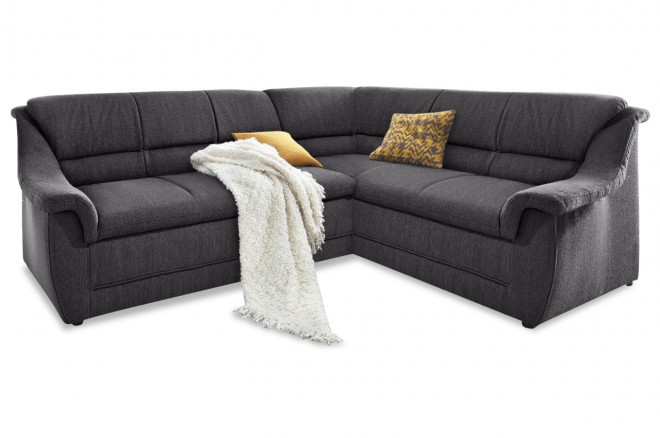 Collection Ecksofa XL Lale rechts - Anthrazit