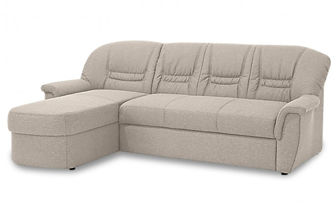 Ecksofa Zoe links - Creme