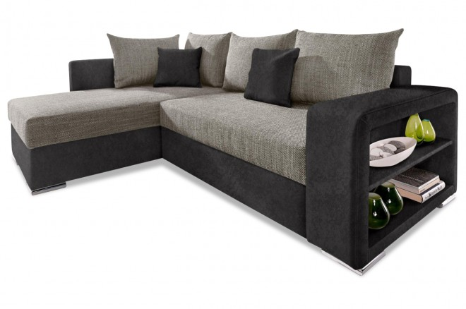 Collection AB Ecksofa XL John links - Grau