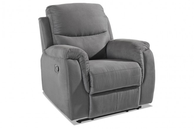 Atlantic Collection Fernsehsessel Diana - mit Relax - Grau