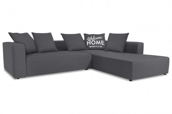 Tom Tailor Ecksofa XL Heaven Casual - Grau