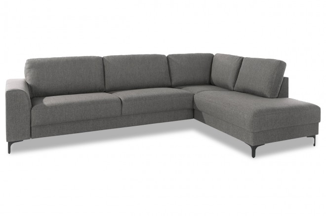 Atlantic Collection Ecksofa XL Vesta - Grau