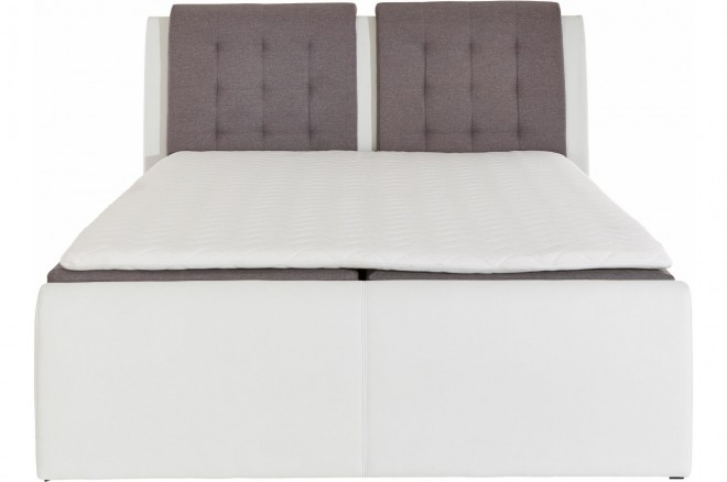 Collection AB Boxspringbett 180x200 Rubene - Grau