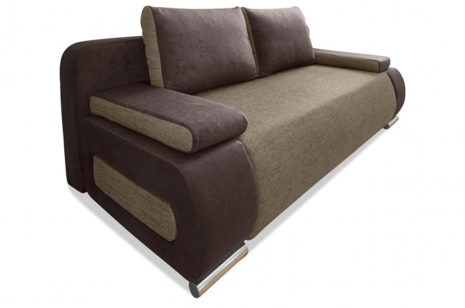 Collection AB 3er-Sofa Moritz - Braun