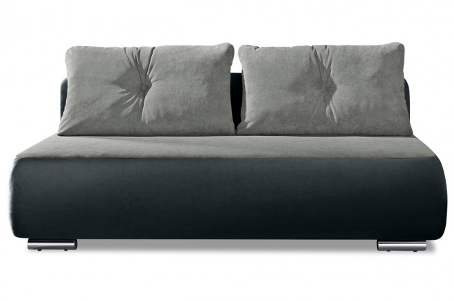 Collection AB 3er-Sofa Fun - Anthrazit mit Federkern