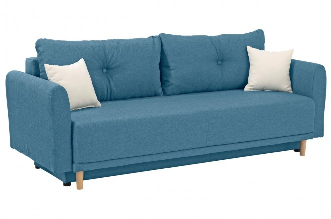 Collection AB 3er-Sofa Scandic - Blau