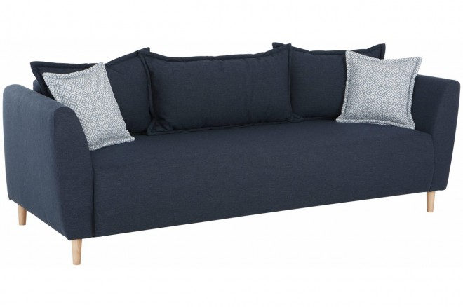 Castello 3er-Sofa Scotland - Blau