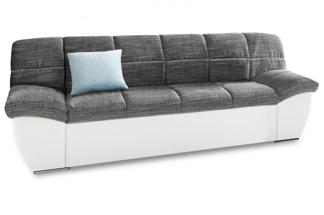 2er-Sofa Splash - Grau
