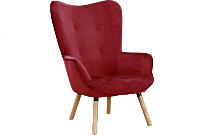 Atlantic Collection Sessel Carl - Rot