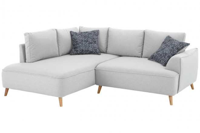 Castello Ecksofa XL Benedetto links - Silber