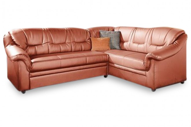 Ecksofa XL Montana rechts - Orange