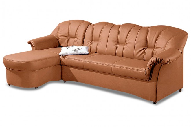 Ecksofa Papenburg-O - Orange