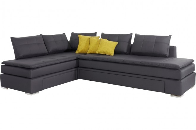 Collection AB Ecksofa XL N&D links - mit Schlaffunktion - Anthrazit