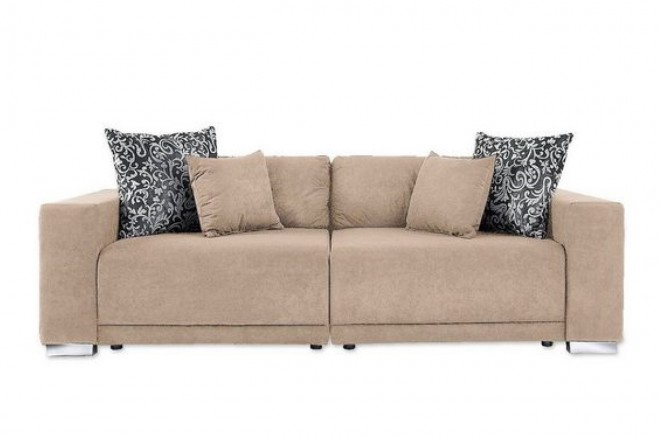 Collection AB Bigsofa Cello - Beige mit Federkern