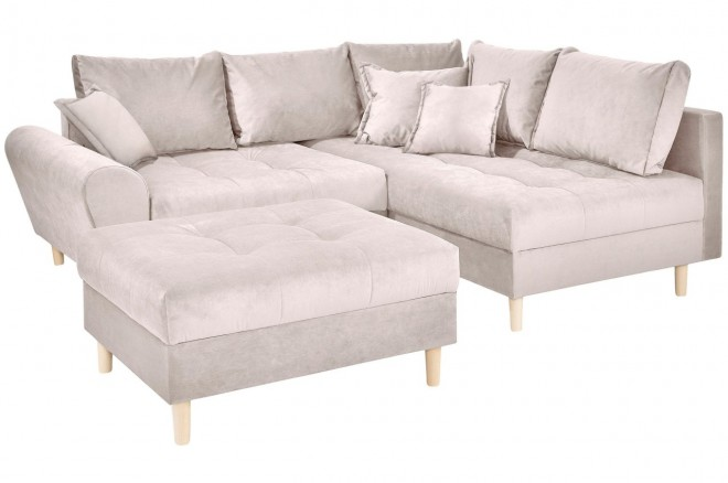 Collection AB Ecksofa XL Rice  rechts - Beige