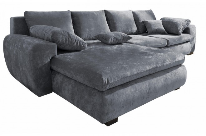 Collection AB Ecksofa Cara Mia  links - Grau