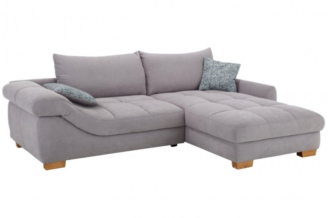 Castello Ecksofa Alison links - Grau