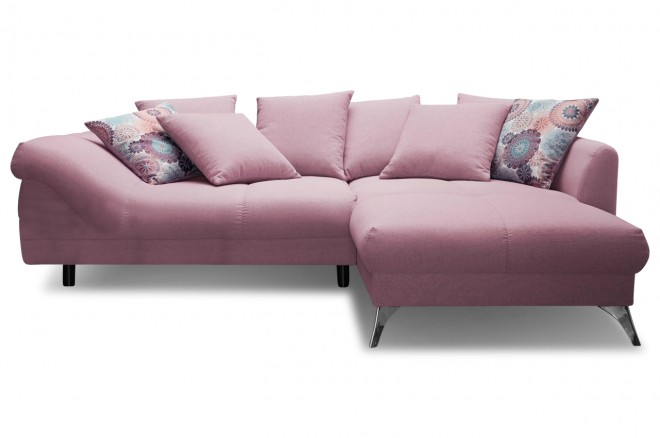 Castello Ecksofa Jamaica links - Pink