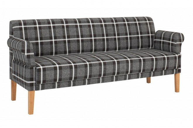 Stolmar 2er-Sofa Cottage - Grau