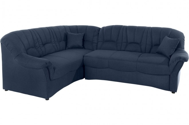 Ecksofa XL Bahia links - Blau