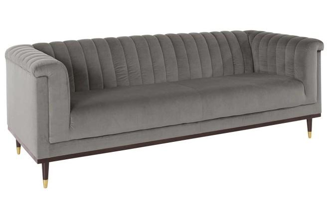 3er-Sofa Chamby - Grau