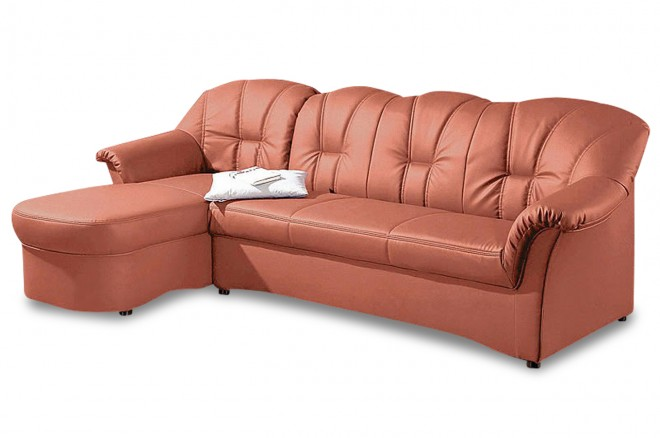 Ecksofa Papenburg - Orange