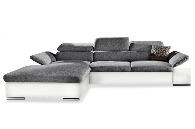 Furntrade Ecksofa Alcudia links - Anthrazit