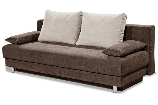 sofa team 3er sofa 178 braun mit federkern sofas zum. Black Bedroom Furniture Sets. Home Design Ideas