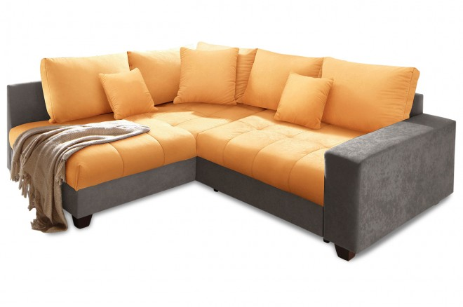 Nova Via Ecksofa XL Greenwich - Orange