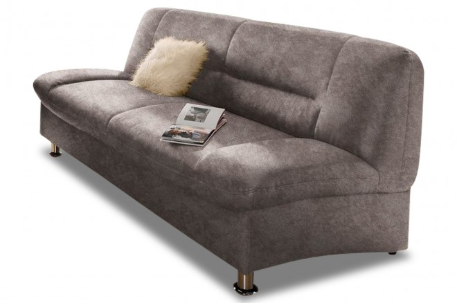 3er-Sofa Mirage - Grau
