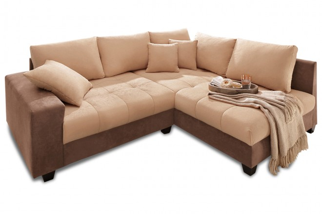 Nova Via Ecksofa XL Greenwich - Creme