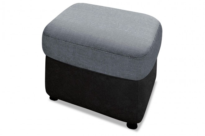 Hocker Flores - Grau