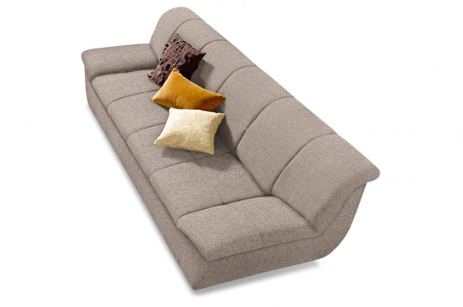 3er-Sofa Splash - Creme
