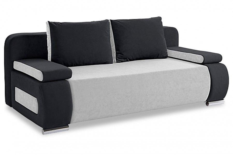 Collection ab 3er sofa moritz mit schlaffunktion grau for 3er sofa mit schlaffunktion