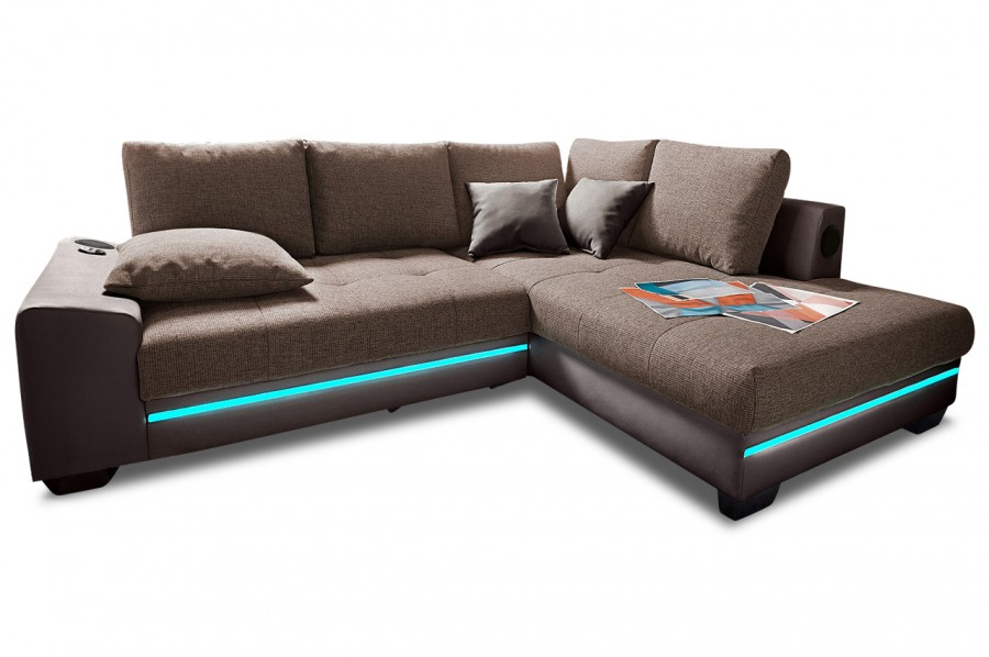 sofa mit led simple design sectional sofa mezzo l with led lights red black with sofa mit led. Black Bedroom Furniture Sets. Home Design Ideas