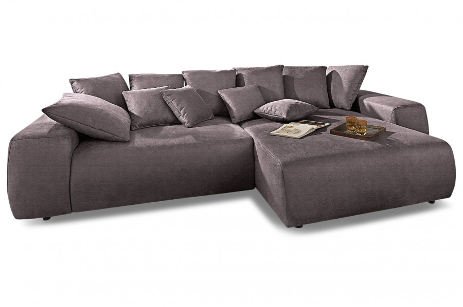 ecksofa glamour rechts anthrazit mit boxspring sofas zum halben preis. Black Bedroom Furniture Sets. Home Design Ideas