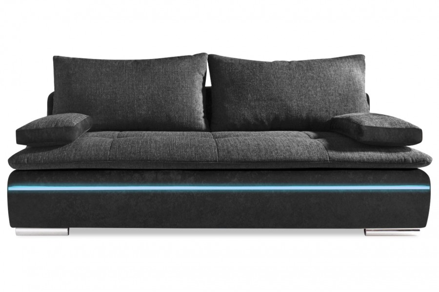 3er sofa haiti easy mit led und schlaffunktion. Black Bedroom Furniture Sets. Home Design Ideas