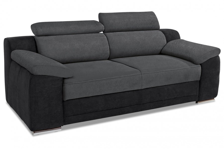 3er sofa grau sofas zum halben preis. Black Bedroom Furniture Sets. Home Design Ideas