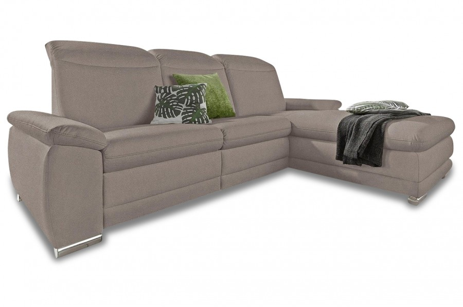 Perfect Ecksofa   Mit Relax   Grau Mit Federkern Good Looking