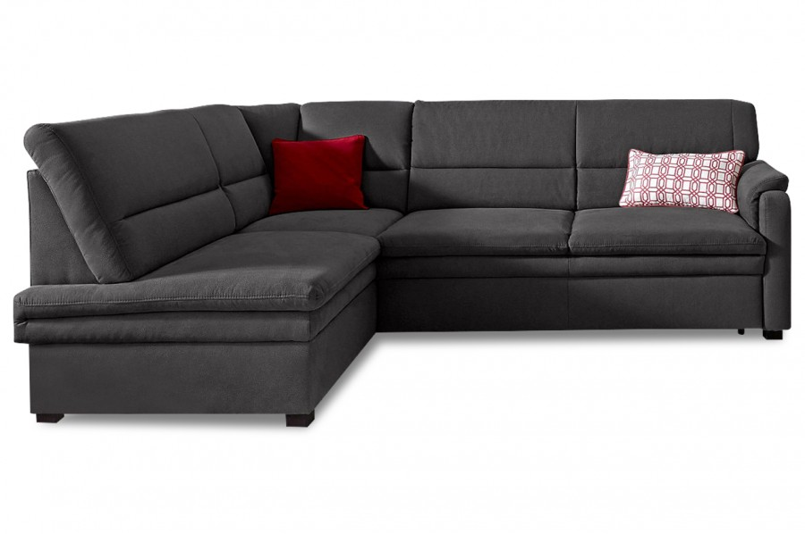 ecksofa xl anthrazit mit federkern sofas zum halben preis. Black Bedroom Furniture Sets. Home Design Ideas