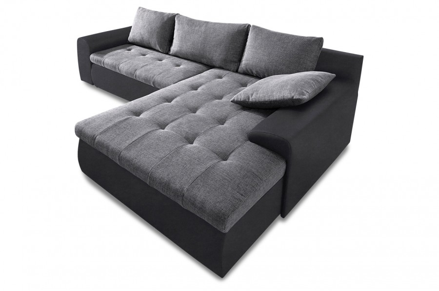 ecksofa cecile xxl 2 mit schlaffunktion grau sofas zum halben preis. Black Bedroom Furniture Sets. Home Design Ideas