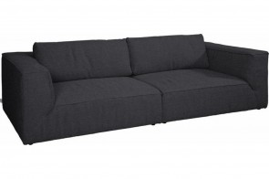 Tom Tailor Bigsofa Cube Style - Charcoal